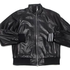 Mastermind Japan Adidas Leather Jacket